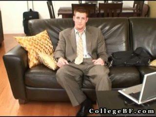 שרירי rc wanking שלו מדהים pecker 3 על ידי collegebf