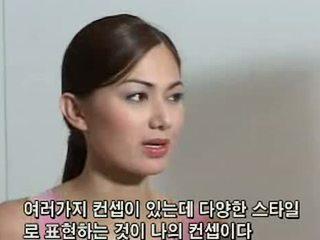 Francine prieto 在 korea 游