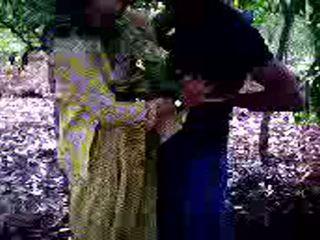 Guy succeeded で へ ファック 彼の 女の子 友人 で 森