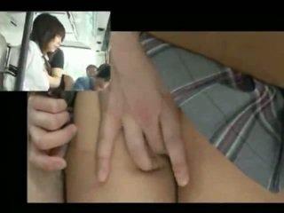 Perverted Men molest Girl in train