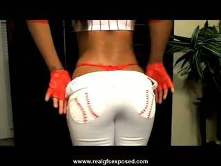 morena, webcam, striptease