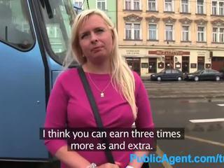 Publicagent krūtainas blondīne uz pick domāt fucked uz disused ēka