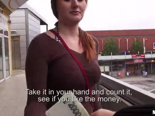 Busty Czech girl Helen fucked for cash