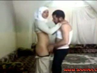 Egyptský hijab coura