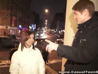 Casual tonårs kön kön med het stranger