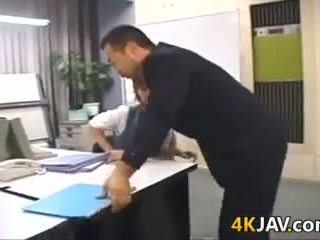 Japanese Girl Fucked At The Office