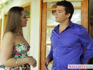 美しい 妻 dani daniels 吸う ディック outdoors