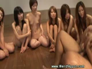 Japanisch gruppe sex pov stil