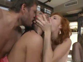 性交性愛, 口交, 雙滲透
