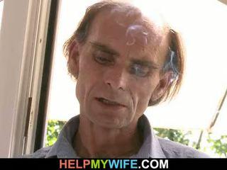 Oud echtgenoot got cuckolded door zijn trophy vrouw