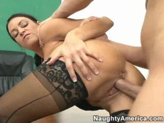 brunete, hardcore sex, no