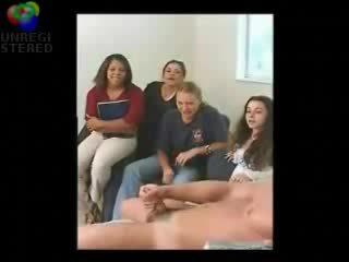 Stripped przez trochę sisters friends i wymuszony do masterbate