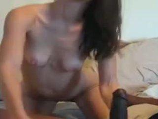 Худенька матуся vs величезний чорна пеніс відео