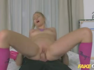 Fake Cop Policeman Fucks Pigtailed Home Alone Lady