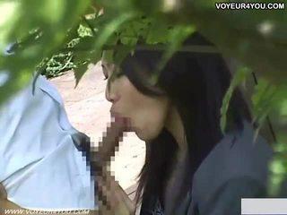 Gira japonesa escola gaja sexo ao ar livre