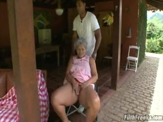 outdoor sex, masturbira, old