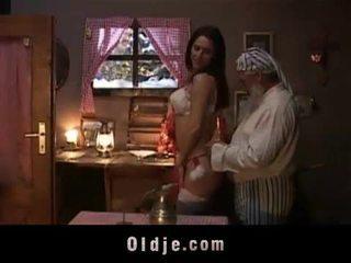Seksuālā ziemsvētki gift par vecs vīrietis.