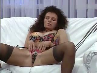 Retro porno: grátis vovó & peluda porno vídeo 2c