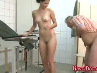 Tanja Sucks Old Doc Penis