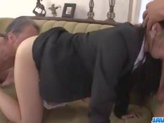 Kotomi Asakura Office Adventure with Her Bosses: Porn 27