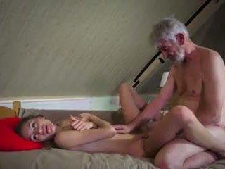Gammal och ung fan: gammal fan ung porr video- 90