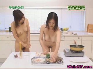 Cock hungry asian sluts sucking, fucking part3