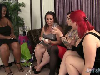 Товстушка balchoelette вечірка turns хардкор лесбіянка секс