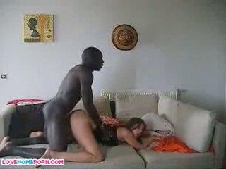 Francese moglie con suo africano immigrant lover ragazzo