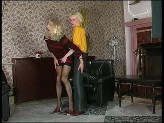 crossdresser, oral seks, anal