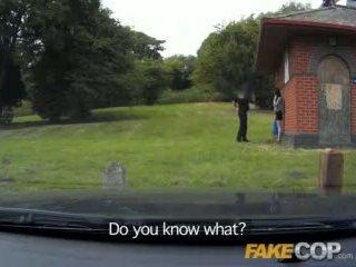 Fake Cop Anal sex in the Barn Yard