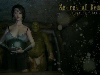 3d animated meisje neuken orcs