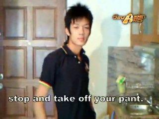 Homoseks pria asia gadis nakal gets diperlakukan tidak baik!