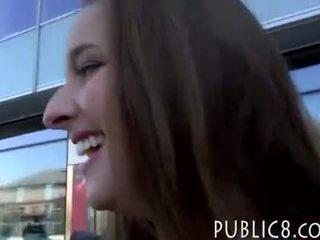 Amateur Czech babe Amirah Adara pounded by stranger dude