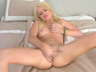 ideální hardcore sex, prsatá blondýnka katya plný, čerstvý sólo ideální