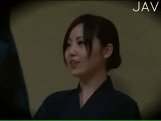 japanese, voyeur, massasje