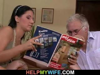 Hubby calls a guy na souložit jeho manželka