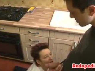 Mother Fucking On The Kitchen Floor