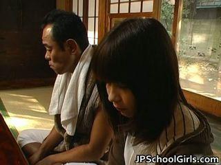 Haru sakuragi azjatyckie uczennica has seks