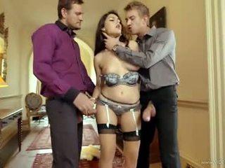 brunette fun, double penetration, görmek vaginal sex onlaýn
