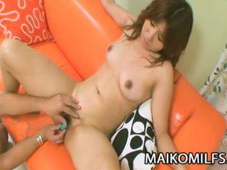 Hitomi fujiwara geil japans mam geneukt