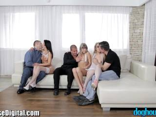DogHouse Gina Gerson Teen Orgy with St...