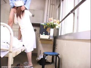 voyeur, verpleegkundigen, naakt