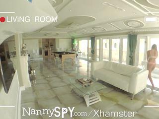 Nannyspy Lying Lazy Nanny Alexis Adams Caught on Camera