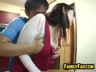 Sexy japonské krok matka