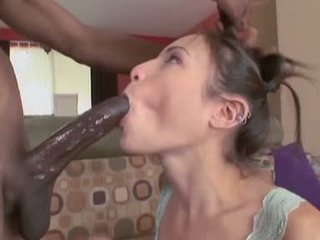 Amber Rayne takes a big black dick like a slut up her sweet moist snatch