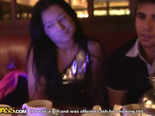 Gemeen brunette fucks in mcdonald's video-