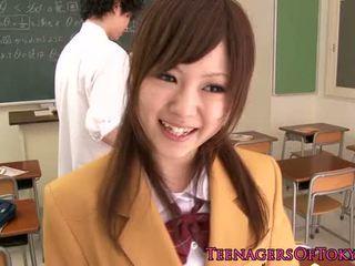 schattig, jong, japanse