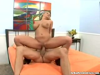 Alanah Rae and Billy Glide have fun in bed
