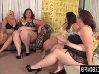 Becki butterfly, erin green, jade rose, महिला lynn प्लंपअर ऑर्जी