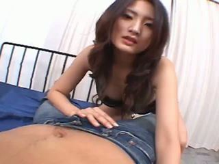 Risa is a hot asian chick who enjoys sucking cock